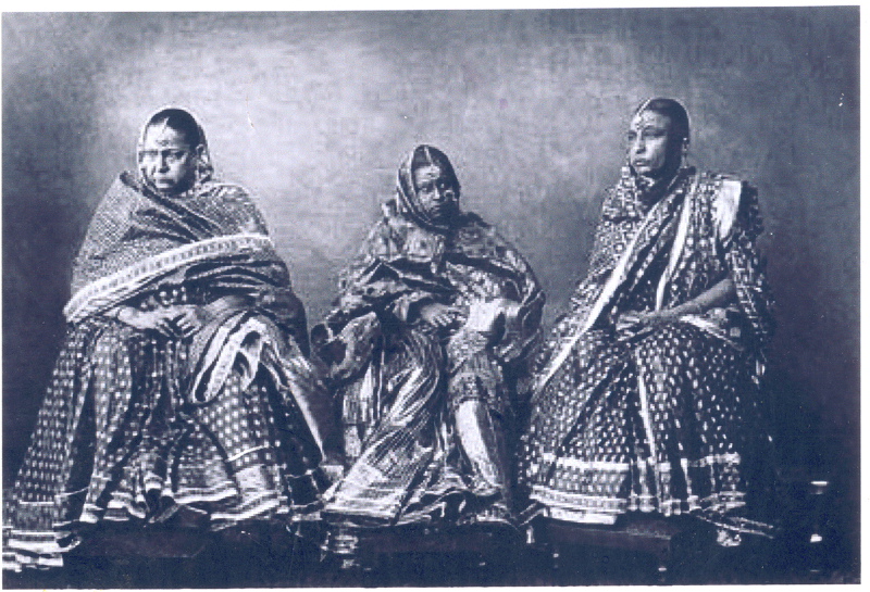 Princess isabella of Bourbon with H.H.Nawab Shah Jehan Begum and her mother